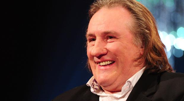 Depardieu claimed he had no choice but to shoot the creatures
