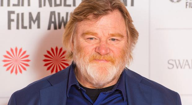 Brendan Gleeson plays Old Thomas Nickerson in In The Heart Of The Sea
