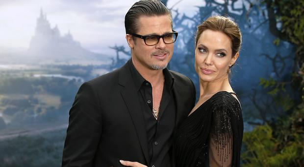 Brad Pitt and Angelina Jolie spent the weeks after their wedding shooting a film about a marriage in crisis