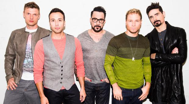 The Backstreet Boys star in their own documentary film, Show 'Em What You're Made Of