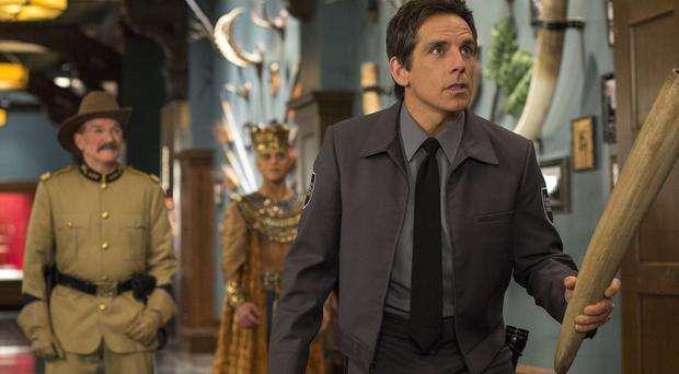 Ben Stiller is back as museum guard Larry Daley in Night At The Museum: Secret Of The Tomb (Twentieth Century Fox)