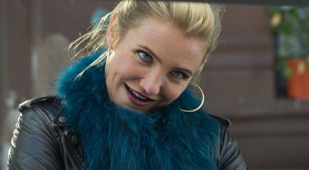 Cameron Diaz was nervous about showing off her vocal cords in Annie