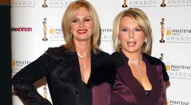 Joanna Lumley and Jennifer Saunders are to reunite for the Absolutely Fabulous film