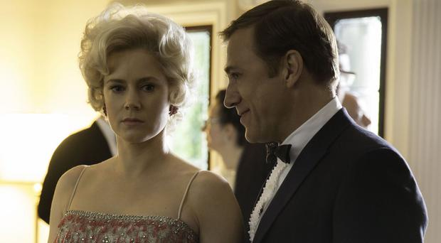 Amy Adams and Christoph Waltz play husband and wife Margaret and Walter Keane in Big Eyes