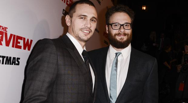 James Franco and Seth Rogen star in The Interview