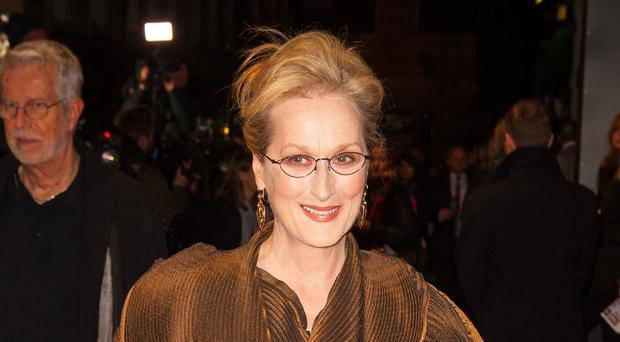 Meryl Streep attending the UK gala screening of Into the Woods at the Curzon Mayfair, London.