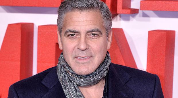 George Clooney stars in Disney's futuristic film, Tomorrowland