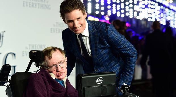 Eddie Redmayne said meeting Stephen Hawking was the greatest reward of his role in The Theory Of Everything