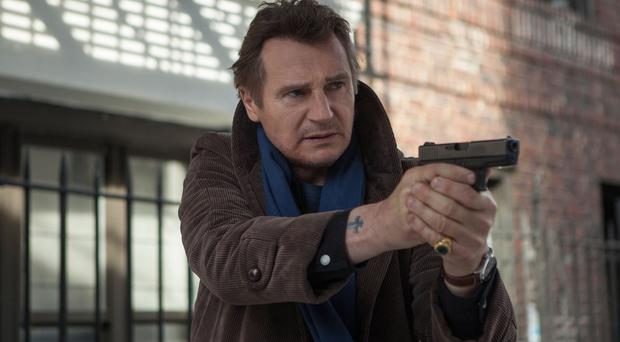 Liam Neeson plays former NYPD detective Matthew Scudder in A Walk Among The Tombstones