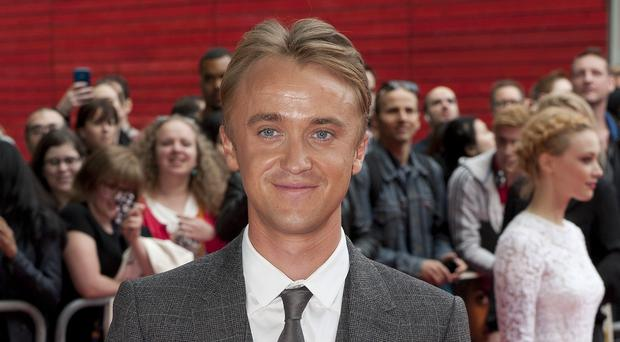 Tom Felton played Draco Malfoy in the Potter films