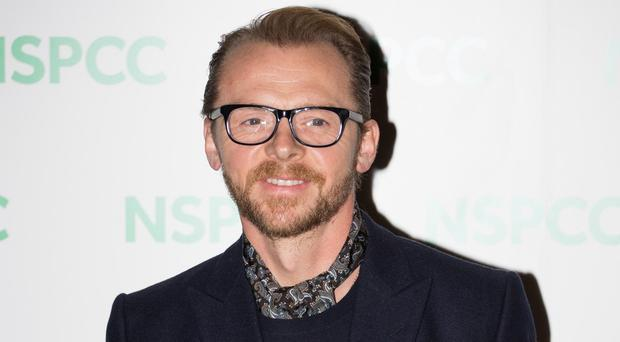 Simon Pegg is set to co-write Star Wars 3