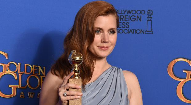 Amy Adams scooped the best actress Golden Globe for Big Eyes