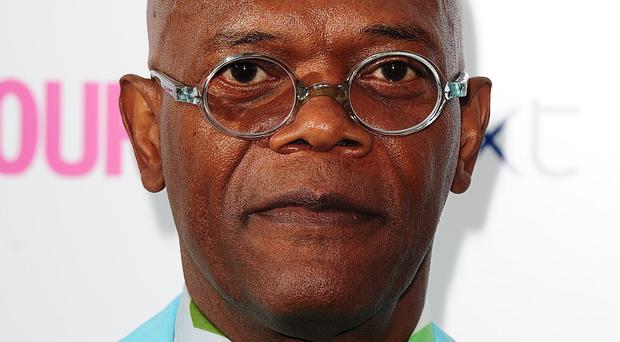 Samuel L Jackson plays villain Richmond Valentine in Kingsman: The Secret Service