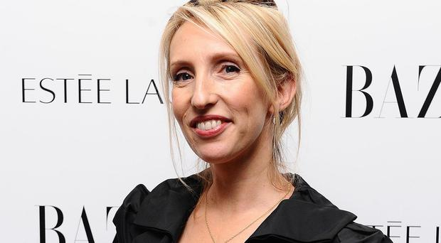 Sam Taylor-Johnson was nervous about showing Beyonce a sneak peek of the Fifty Shades Of Grey film