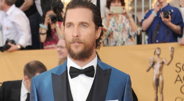Matthew McConaughey is to star in Born To Run