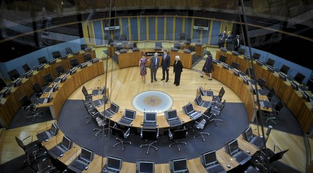 The Siambr is not a drama studio, the Welsh Assembly Commission said
