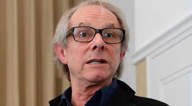 Film director Ken Loach attended the launch