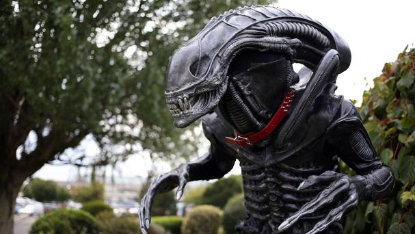 Alien from the sci-fi movies of the same name came top of a list of the most infamous movie monsters