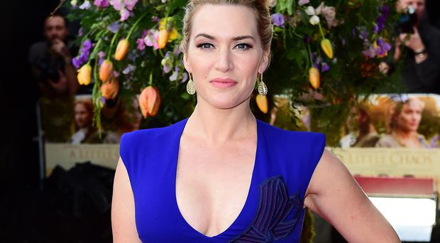 Kate Winslet at the London premiere of the film