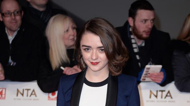 Maisie Williams is starring in the film The Falling