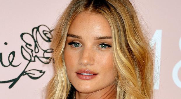 Rosie Huntington-Whiteley was once told she looked