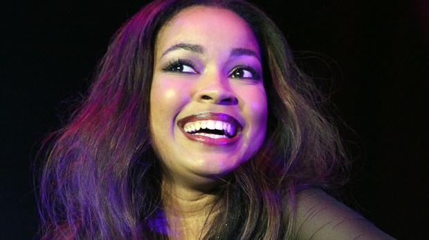 Dionne Bromfield joined Friday Download stars for the premiere of Up All Night