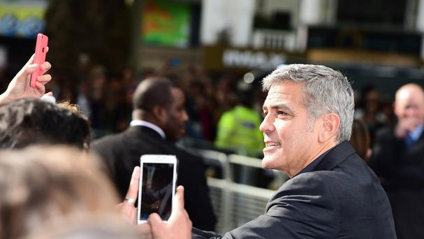 George Clooney says he is an optimist