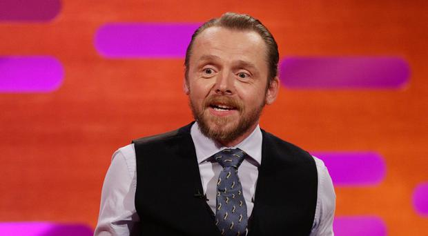 Simon Pegg is co-writing the new Star Trek movie