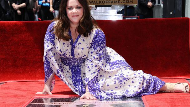 Melissa McCarthy unveiled her star on the Hollywood Walk Of Fame (Invision/AP)