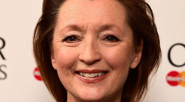 Lesley Manville has been awarded an OBE for services to drama