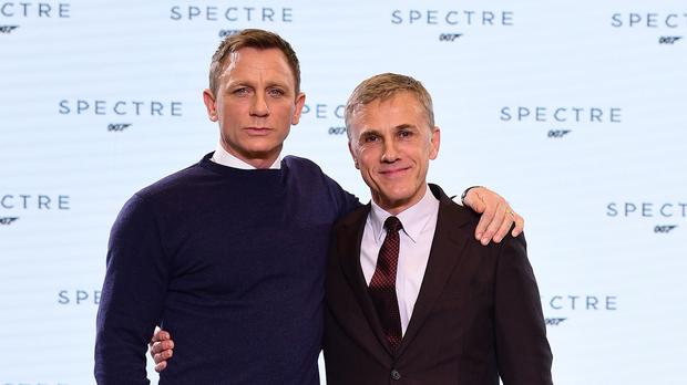 The current Bond film - Spectre - stars Daniel Craig as 007 and Christoph Waltz as the baddie Franz Oberhauser