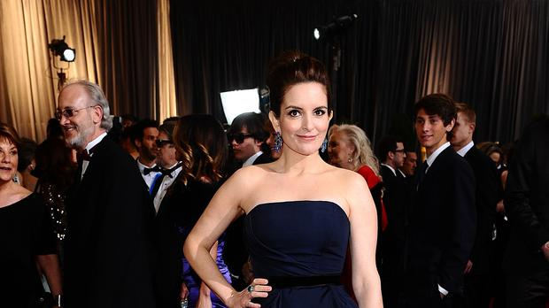 Saturday Night Live's Tina Fey starred alongside Amy Poehler as Poehler rose to fame