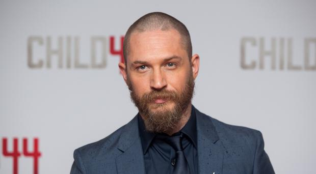 Tom Hardy visited 45 Commando's training ground in Arbroath
