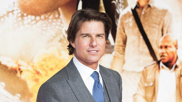 Tom Cruise attending the Mission: Impossible - Rogue Nation premiere at the BFI Imax in London