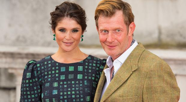 Gemma Arterton and Jason Flemyng attending the UK premiere of Gemma Bovery at Somerset House, London