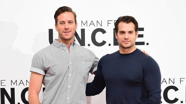 Armie Hammer and Henry Cavill star in the Man From UNCLE