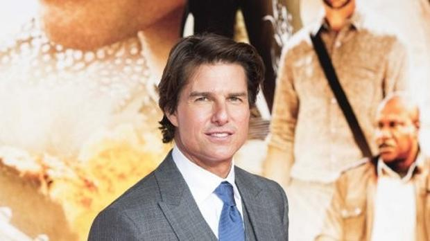 Tom Cruise attending the Mission: Impossible - Rogue Nation premiere at the BFI Imax in London.