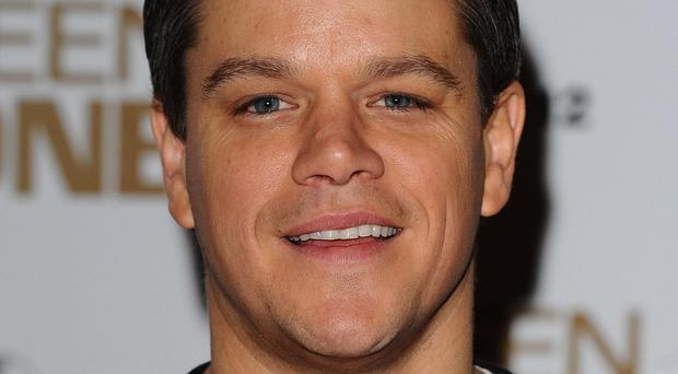 Matt Damon plays astronaut Mark Watney in The Martian
