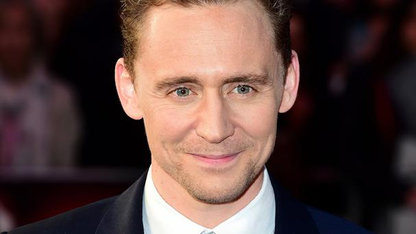 Tom Hiddleston attends the High-Rise premiere during the 59th BFI London Film Festival at Leicester Square