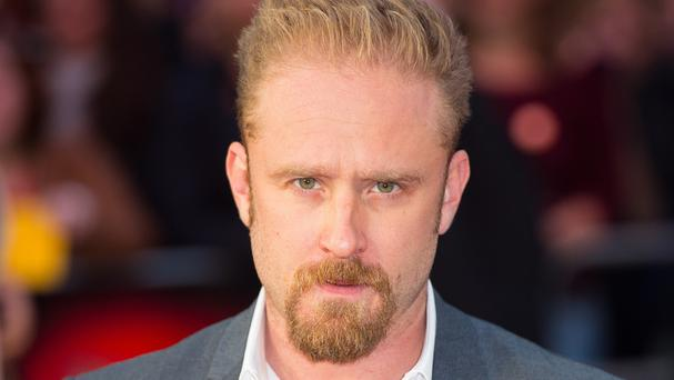 Ben Foster attends the premiere of The Program at the Odeon Cinema, Leicester Square