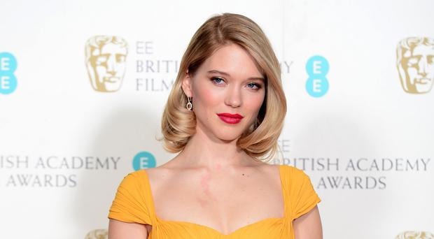 Lea Seydoux is one of the Bond girls in Spectre