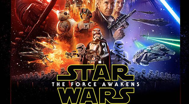 The trailer for Star Wars: The Force Awakens debuted on US TV