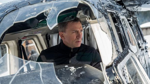 Daniel Craig in a scene from the latest James Bond film Spectre (MGM/PA)