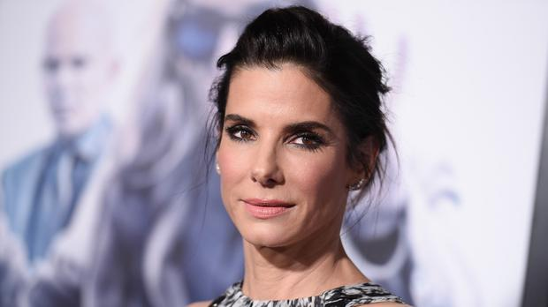 Sandra Bullock arrives at the LA premiere of Our Brand Is Crisis (AP)