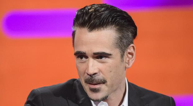 Colin Farrell has been nominated for his role in The Lobster.