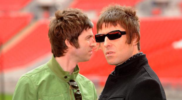 Noel and Liam Gallagher were involved in an acrimonious split