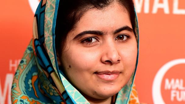 Malala Yousafzai at a special screening of He Named Me Malala in London