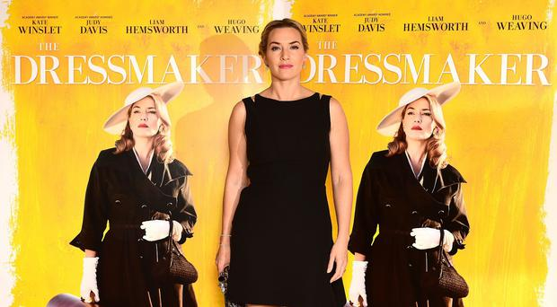 Kate Winslet attending a screening of The Dressmaker at the Mayfair Hotel in London