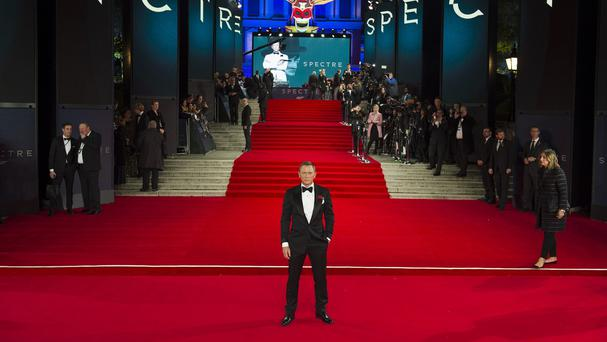 Spectre has prompted a surge in box office receipts