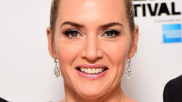 Kate Winslet received a special prize at the 2015 Moet British Independent Film Awards